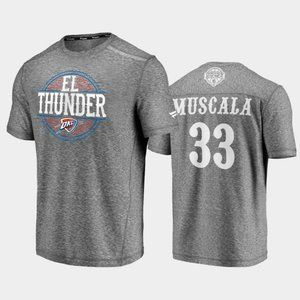 Thunder #33 Mike Muscala Noches Ene-Be-A T-Shirt